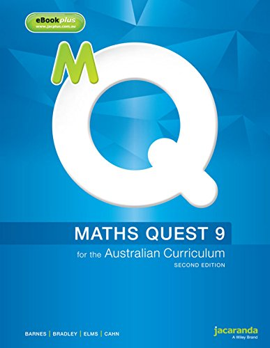 Maths Quest 9 for the Australian Curriculum 2E & eBookPLUS (Paperback): Robert Cahn