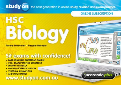 StudyOn HSC Biology & Booklet (Paperback): Antony Mayrhofer