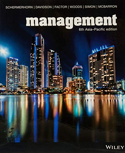 Management Asia-Pacific Edition (Black & White) (Paperback): John R. Schermerhorn