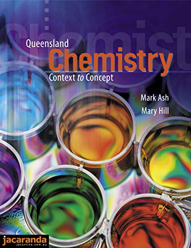 Queensland Chemistry Context to Concept & CD-ROM (Paperback): Ash