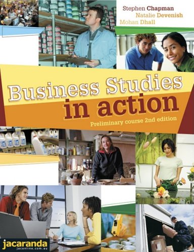 9780731403127: Business Studies in Action Preliminary Course 2E