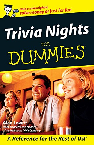 9780731405947: Trivia Nights For Dummies