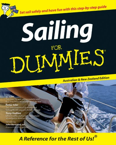 Sailing For Dummies (Paperback): Tony Hollins