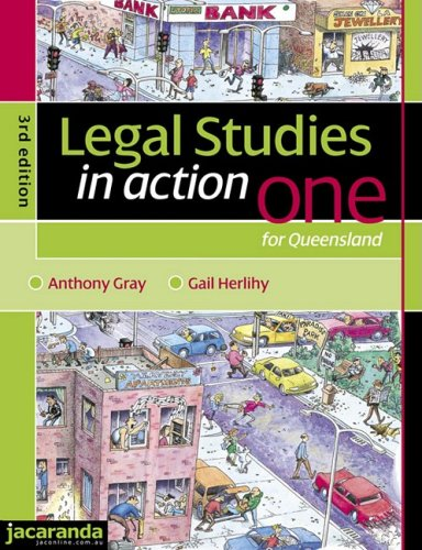 Legal Studies in Action One for Queensland 3E & eBookPLUS (Paperback): Gail Herlihy