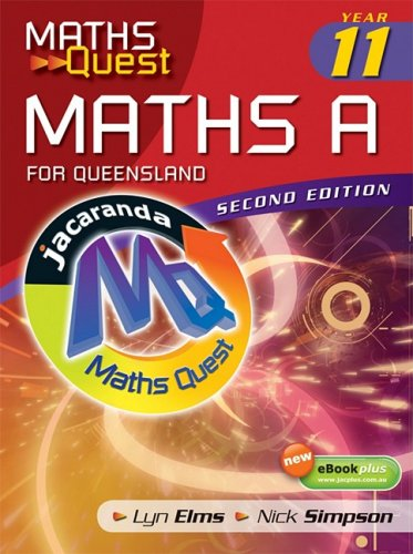 9780731408078: Maths Quest: Year 11 Maths A for Queensland