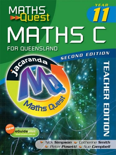 9780731408306: Maths Quest Maths C Year 11 for Queensland 2E Solutions Manual