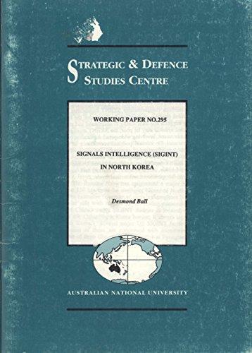9780731524624: Signals Intelligence (Sigint) in North Korea