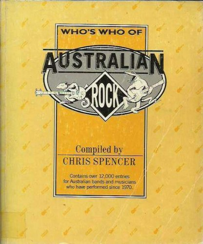 9780731603589: Who's who of Australian rock