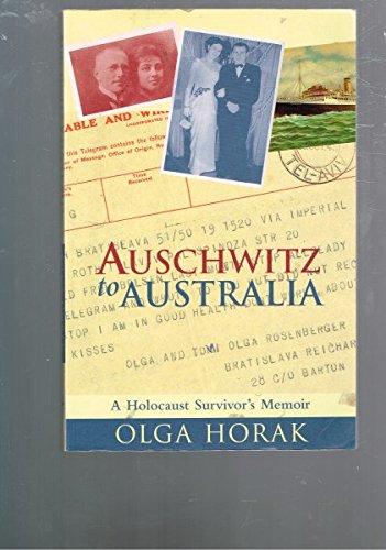 9780731809585: Austhwitz to Australia; a Holocaust Survivor's Memoir