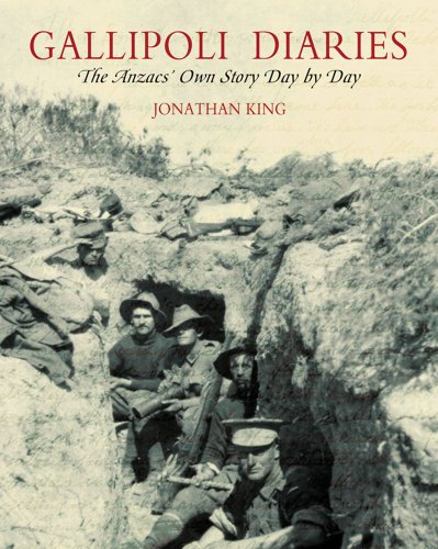 9780731812912: Gallipoli Diaries: The Anzac's Own Story Day by Day