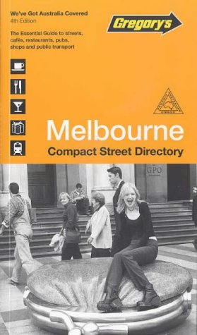 9780731911103: Gregory's Compact Melbourne: Street Directory (Street Atlases of Australia)