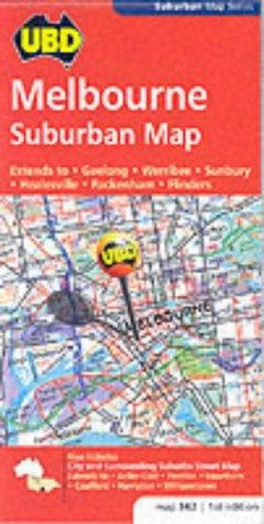 9780731912988: Melbourne Suburban (UBD City Maps)