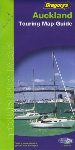 Auckland 2005 (Gregory's New Zealand Touring Map): UBD Gregorys