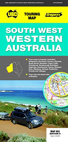 9780731927418: South-West Western Australia Map 682 5th ed (Touring Maps)