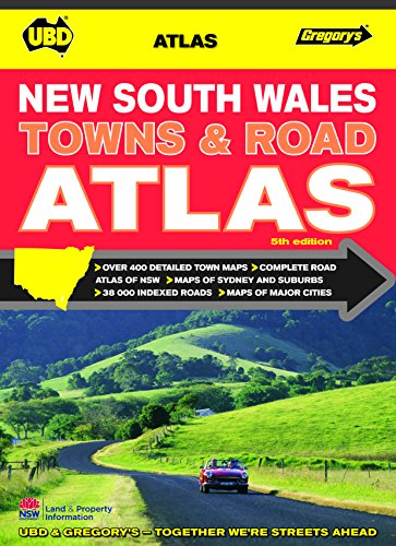 9780731927869: New South Wales Towns and Roads Atlas 5th ed