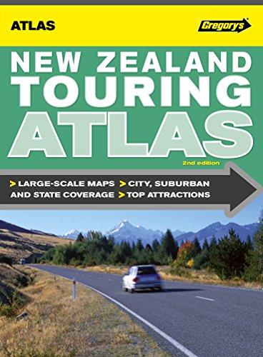 9780731928132: New Zealand Touring Atlas 2nd ed