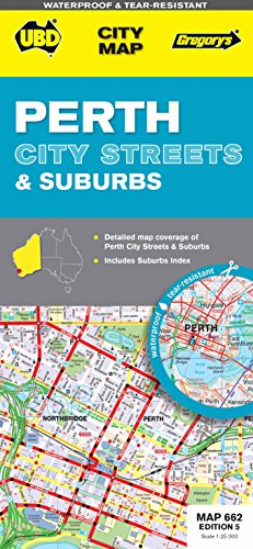 9780731928965: Perth City Streets and Suburbs 662