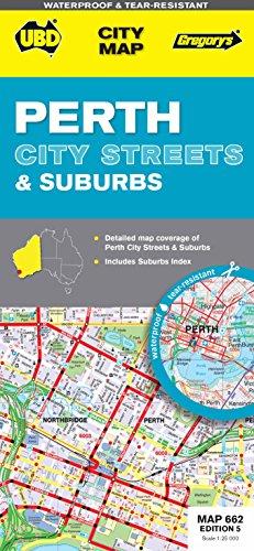 9780731928965: Perth City Streets & Suburbs