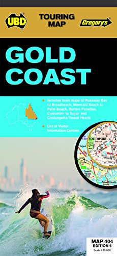 9780731929863: Gold Coast Map 404 6th ed (Touring Map)
