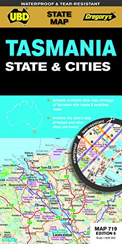 9780731929979: Tasmania State & Cities  1 : 625 000