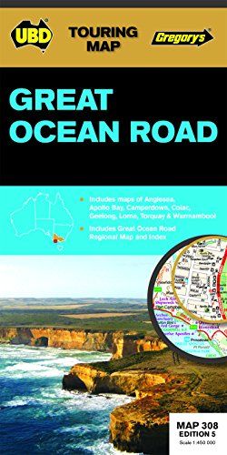 9780731929986: Great Ocean Road Map 308 5th ed (Touring Maps)
