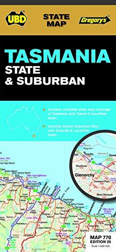 9780731930029: Tasmania State & Suburban  1 : 625 000