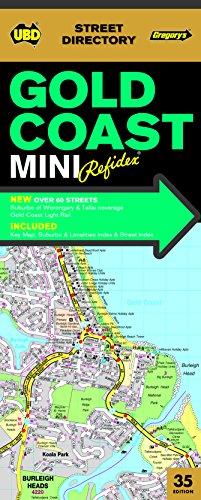 Gold Coast Mini Refidex Street Directory 35th: UBD Gregorys