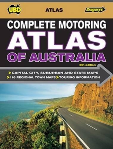9780731930623: Complete Motoring Atlas of Australia 8th ed