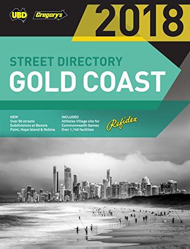 Gold Coast Refidex Street Directory 2018 20th: UBD Gregorys