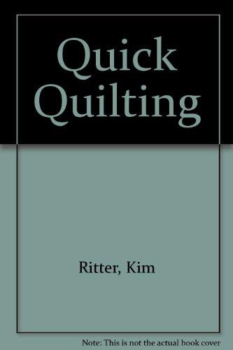 9780732260569: Quick Quilting