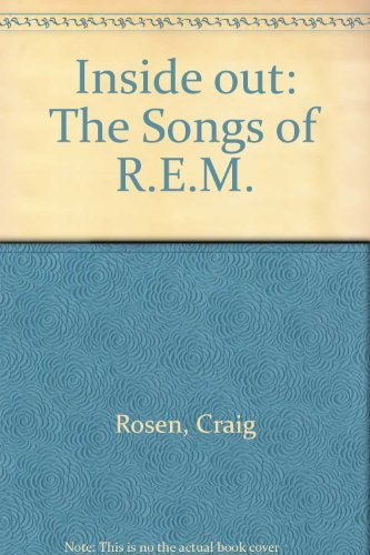 9780732262969: Inside out: The Songs of Rem