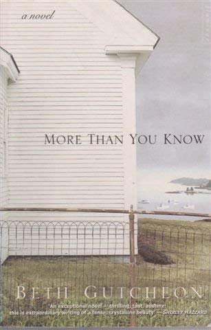 9780732270292: More Than You Know