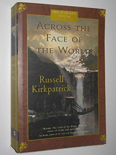 9780732279387: Across the Face of the World (Fire of Heaven)