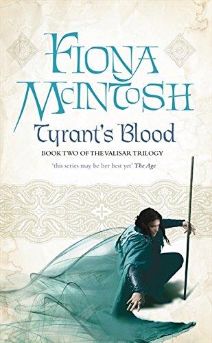 9780732281786: Tyrant's Blood (Valisar Trilogy)