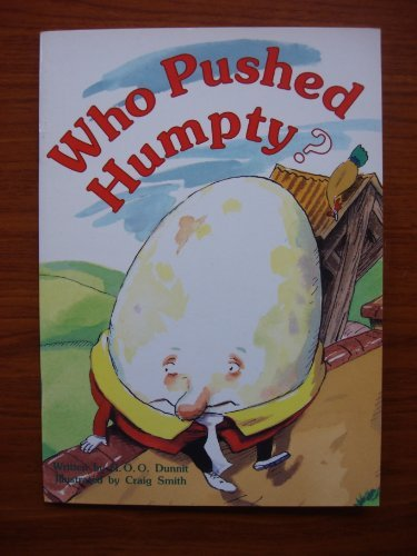 9780732707064: Who pushed Humpty?: A nursery rhyme crime (Literacy 2000)