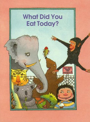 9780732709082: What Did You Eat Today?
