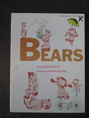 LT 2-B Bears Fo (Literacy Tree) (0732720354) by Krauss, Ruth