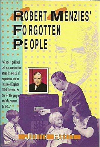 9780732907617: Robert Menzies' forgotten people