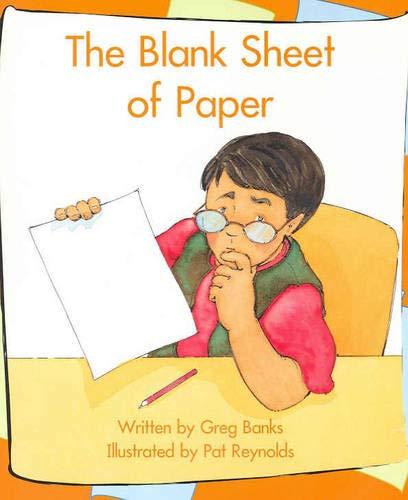 Sb16c Blank Sheet of Paper (Hardcover): Greg Banks