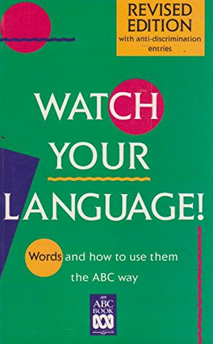 Watch Your Language!: Standing Committee On