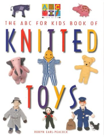 9780733302503: ABC for Kids Book of Knitted Toys