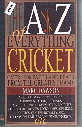 9780733305474: The A-Z Of Everything Cricket