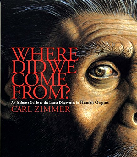 9780733316470: Where Did We Come From? : An Intimate Guide to the Latest Discoveries in Human Origins