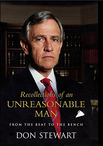 9780733318948: Recollections of an Unreasonable Man: From the Beat to the Bench