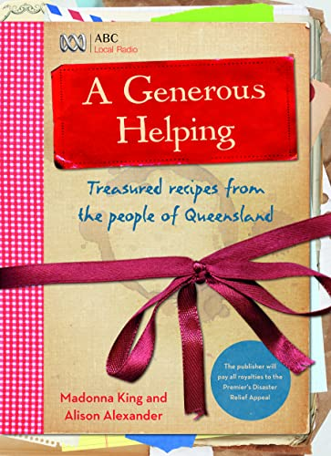 9780733330391: A Generous Helping - Treasured recipes from the people of Qeensland
