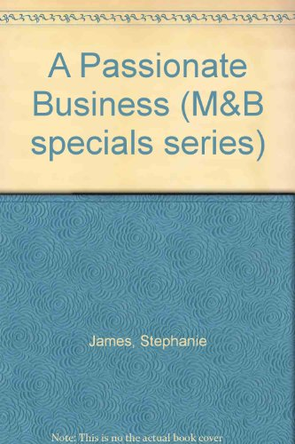 9780733522529: A Passionate Business (M&B specials series)