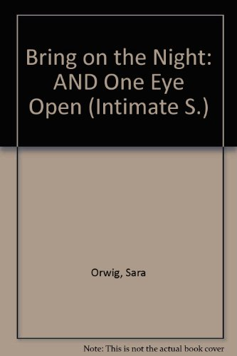9780733554292: Bring on the Night: AND One Eye Open (Intimate S.)