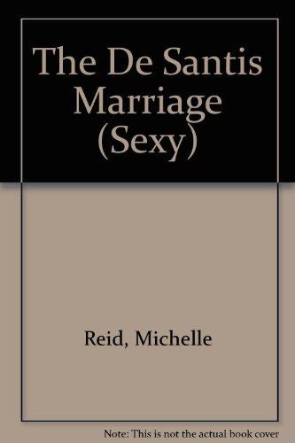 9780733588570: The De Santis Marriage (Sexy)