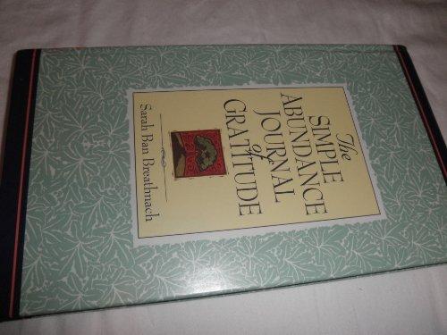 9780733604096: The Simple Abundance Journal of Gratitude