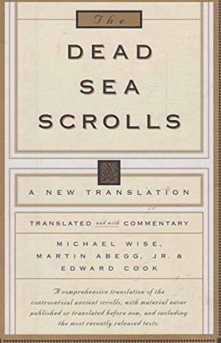9780733604775: The Dead Sea Scrolls: A New Translation